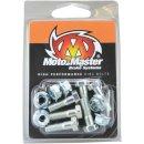 Moto-Master Bremsscheibenschrauben M6X19 Hex+Nut MM12005