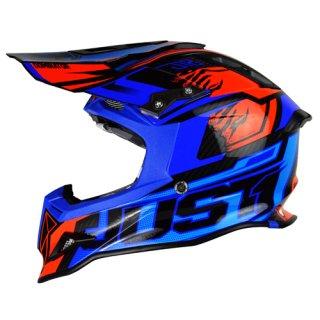 JUST1 Helm J12 Dominator Blue-Red