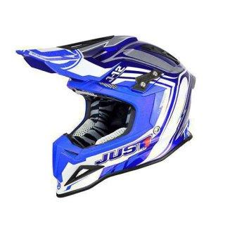 JUST1 Helm J12 Flame Blue