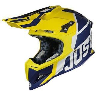 JUST1 Helm J12 Unit Blue-Yellow
