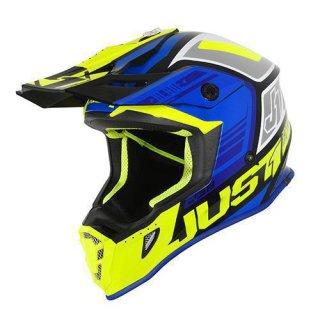 JUST1 Helm J38 Blade Blue-Yellow Fluor-Black