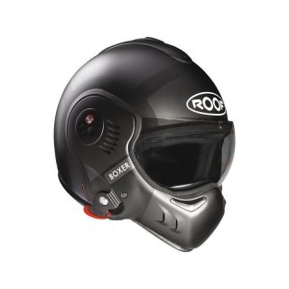 ROOF Helm Boxer V8 Bond Matt Titan-Black