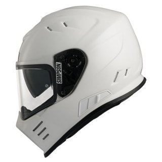 Simpson Helm Venom White (MA)