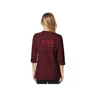 Fox Hoodies, Pullover Heater 3/4 Crew [Crnbry]