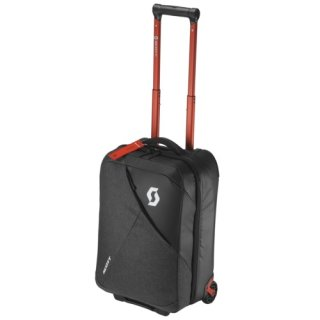 Scott Bag Travel Softcase 40 - dark grey/red clay/one size