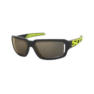 Scott Sonnenbrille Obsess ACS - black/neon yellow/gold...