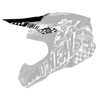 ONeal-Ersatzvisier-5SRS-Polyacrylite-Helm-RIDER-schwarz-w...