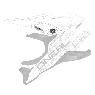 Oneal Ersatzvisier 3SRS Helm FLAT 2.0 weiss