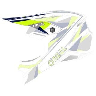 Oneal Ersatzvisier 3SRS Helm TRIZ blau/neon gelb