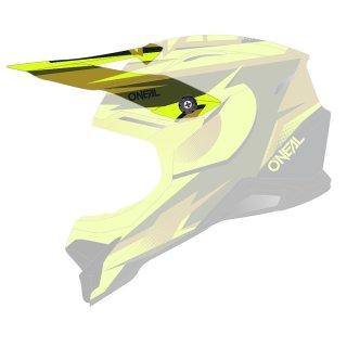 Oneal Ersatzvisier 3SRS Helm RIFF 2.0 olive/neon gelb