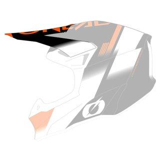 Oneal Ersatzvisier 10SRS Hyperlite Helm BLUR schwarz/orange