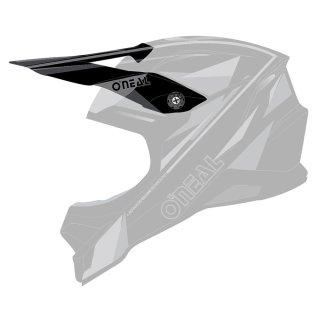 Oneal Ersatzvisier 3SRS Helm TRIZ schwarz/grau