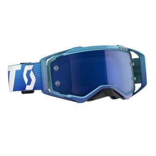 Scott MX Brille Prospect - blue/white/electric blue...