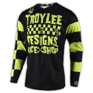 TLD Youth Gp Jersey; Raceshop 5000 Lime