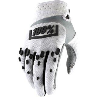 100% Handschuhe Airmatic Weiß/Schwarz...