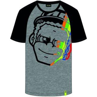 VR46 T-Shirt (VRMTS352005) 2019-Dottorino Grey