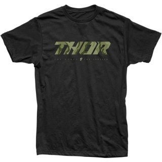Thor T-Shirt Loud 2 Bk/Camo