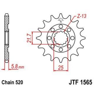 JT Ritzel 06-17 14Zähne JTF1565.14SC