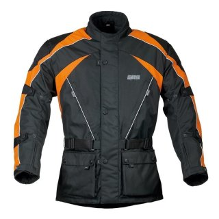 Germas Jacke Twister schwarz-orange