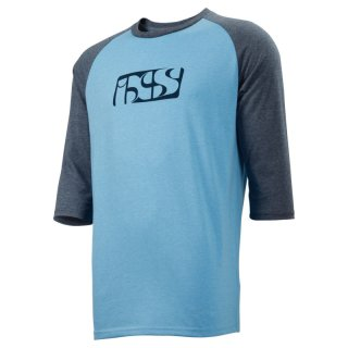 iXS Brand ? Tee hell blau-night blau