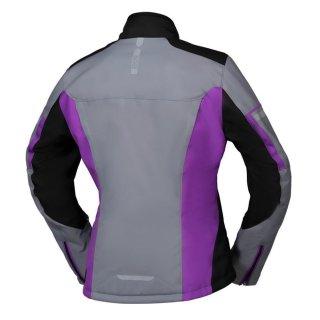iXS Damen Jacke Tour Finja-ST 2.0 schwarz-grau-pink
