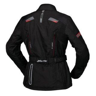 iXS Damen Jacke Tour Liz-ST schwarz-rot