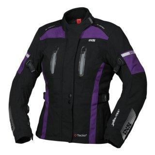 iXS Damen Jacke Tour Paco-ST schwarz-violett