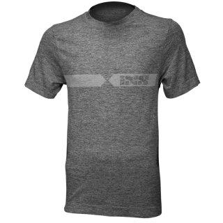 iXS Funkt.-Shirt Melange hellgrau-dunkelgrau