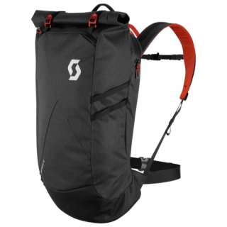 Scott Backpack Commuter Evo 28 - dark grey/red clay/one size