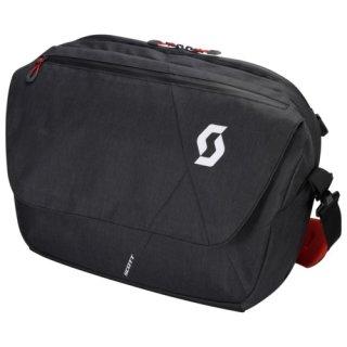 Scott Bag Messenger 25 - dark grey/red clay/one size