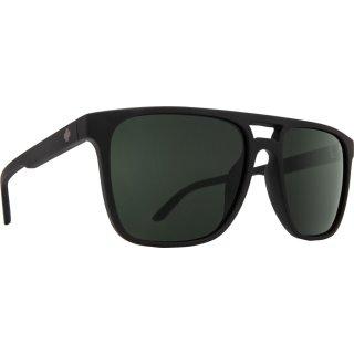 SPY-OPTIC-Sonnenbrille-Czar-soft-matte-black-happy-gray-gree