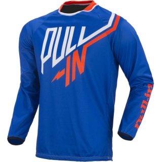 Pull-In Crossshirt Kinder Challenger Blau XXS