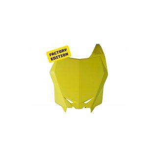 Factory Nummerntafel vorne RMZ 450 08-,RMZ 250 10- Gelb