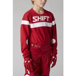 Shift Youth White Label Haut Jersey [Rd]