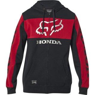 Fox Honda Zip Fleece [Blk/Rd]