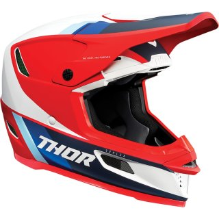 Thor Reflex Apex Mips Helm Red/White/Blue