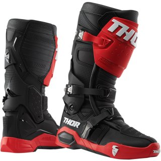 Thor Radial Offroad Stiefel Red/Black