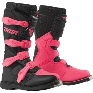 Thor Womens Blitz Xp Offroad Stiefel Black/Pink