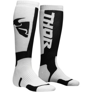 Thor Mx S8 Socks White/Black