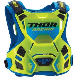 Thor Guardian Mx Deflector Flo Green/Blue