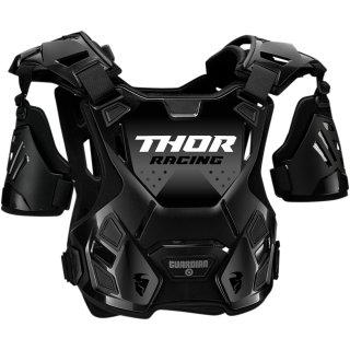 Thor Comp Xp Flex Long Sleeve Deflector Black