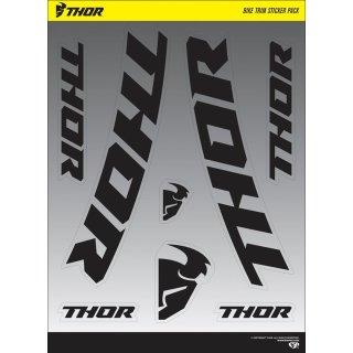 Thor Bike Trim Sticker S18 Decal Sheet 2Pk Black/White