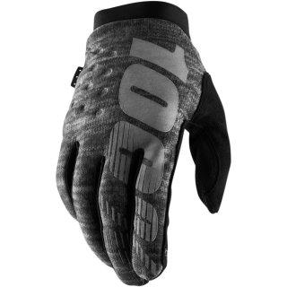 100% Brisker Handschuhe Hellgrau
