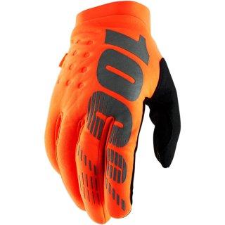 100% Brisker Handschuhe Orange
