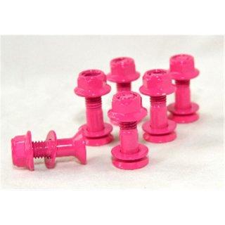 KSX Kettenradschrauben Selbstsichernd Pink XO53-5207