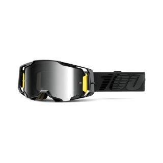 100% Armega Goggle Nightfall - Mirror Silver