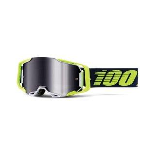 100% Armega Goggle Deker - Mirror Silver