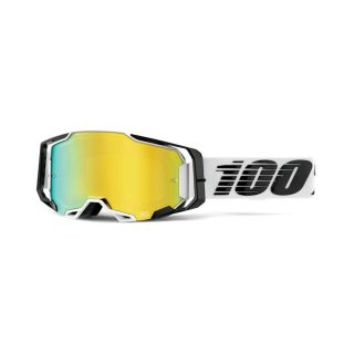 100% Armega Goggle Atmos - Mirror Gold