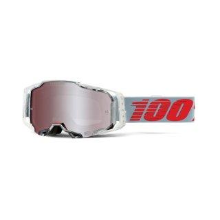 100% Armega Goggle X-Ray - HiPER Silver