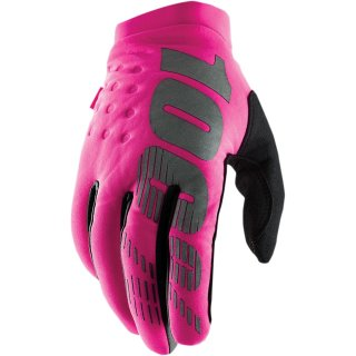 100% Brisker Handschuhe Pink Frauen